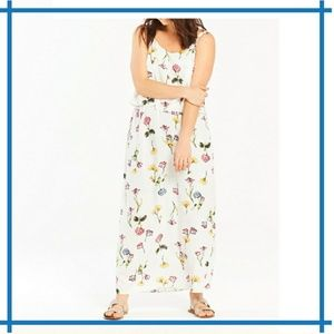Capsule by Simply Be Floral Print Layered Dress